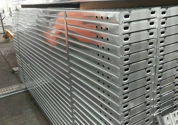 使用热镀锌钢跳板是节能环保趋势